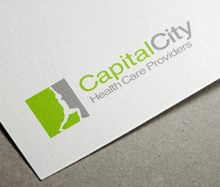 Capital City Health Care Providers Logo Design