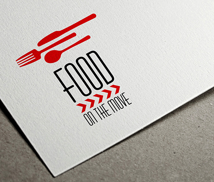 Food on the Move Logo Design