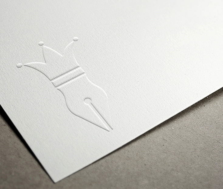 Premier Stationery Logo Design
