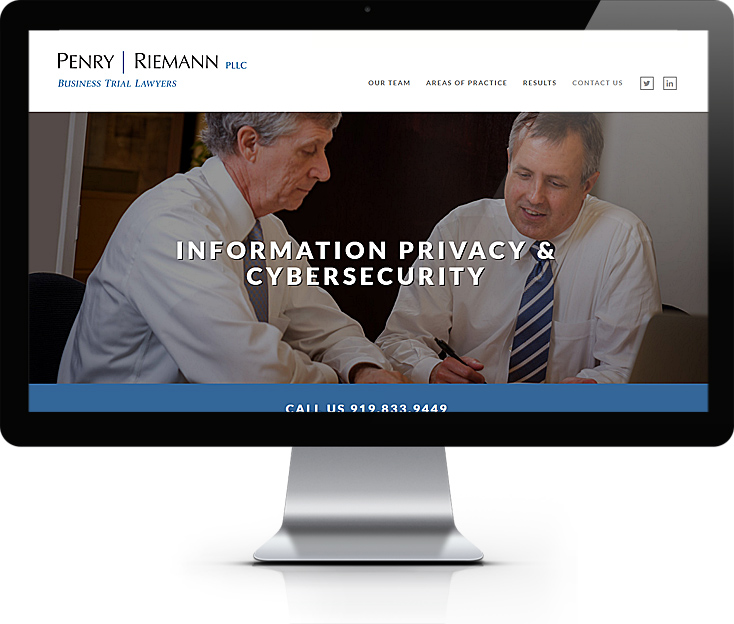 Penry Riemann Law Firm website