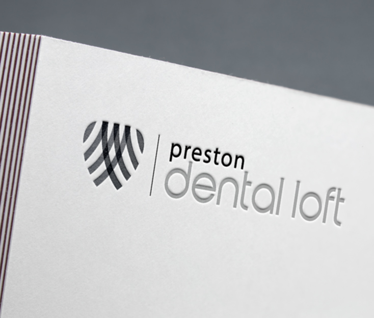Preston Dental Loft Logo Design