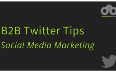 B2B Twitter Tips