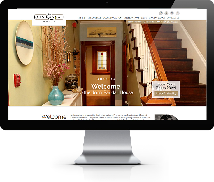 John Randall House Website Design