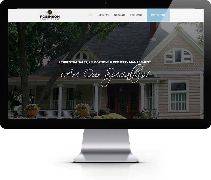 Robinson Realty Website Design