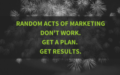 Random Acts of Marketing Don't Work