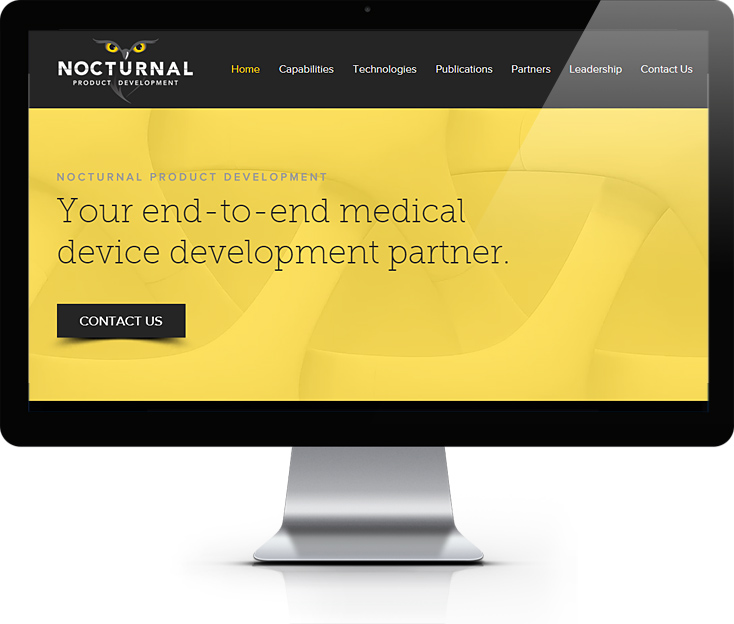 Medical Product Development Website
