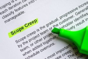 scope creep defined