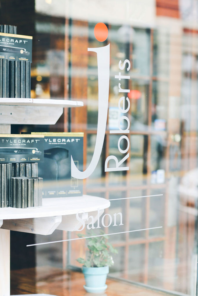 JRoberts Hair Salon website design