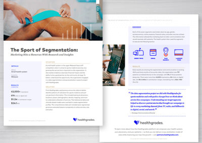 Healthcare Sports Medicine Case Study Design