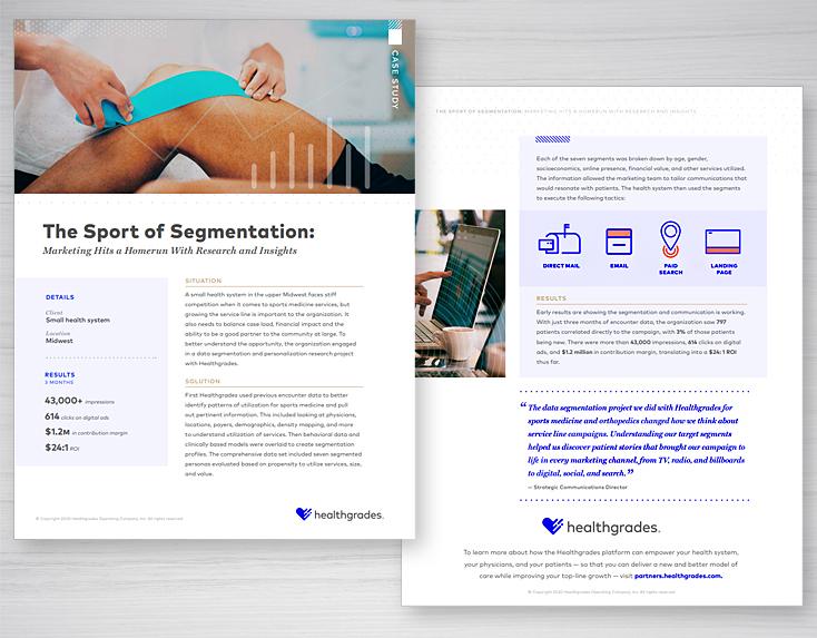 Healthcare Sports Medicine Case Study Design