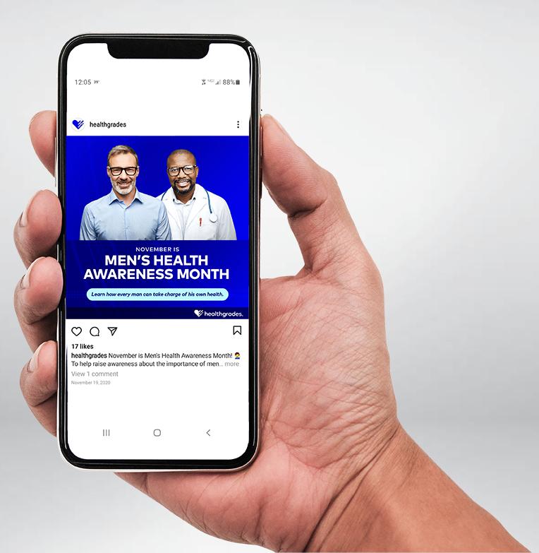 Healthgrades' social media ads
